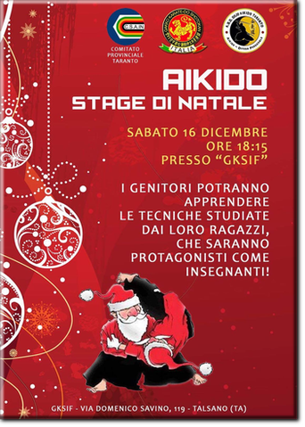 Aikido - Stage Natale 2017